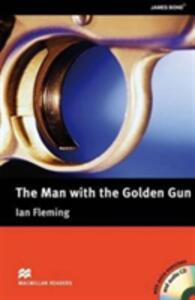 The Man with the Golden Gun (with CD and extra activities) - Ian Fleming - cover