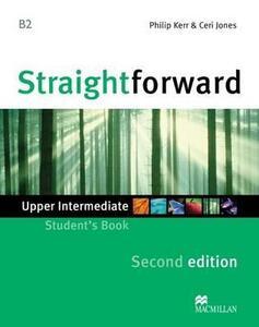 Straightforward 2nd Edition Upper Intermediate Level Student's Book - Philip Kerr,Ceri Jones - cover
