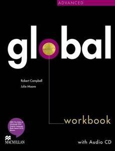 Global Advanced Workbook & CD Pack - Robert Campbell,Julie Moore - cover