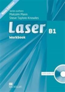 Laser 3rd edition B1+ Workbook without key & CD Pack - Malcolm Mann,Steve Taylore-Knowles - cover