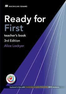 Ready for FCE Teacher's Book Pack - Roy Norris - cover