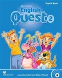 Macmillan English Quest Level 2 Pupil's Book Pack - Jeanette Corbett,Roisin O'Farrell - cover