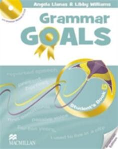 American Grammar Goals Level 5 Student's Book Pack - Angela Llanas,Libby Williams,Helen McKenna - cover