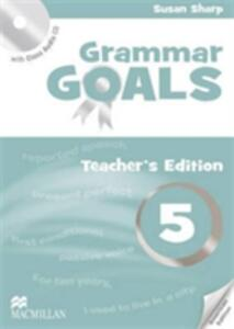 American Grammar Goals Level 5 Teacher's Book Pack - Sue Sharp,Angela Llanas,Libby Williams - cover