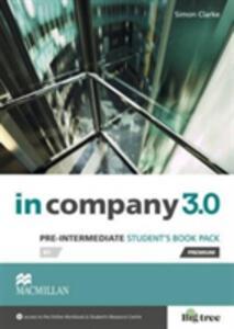 In Company 3.0 Pre-Intermediate Level Student's Book Pack - Simon Clarke - cover