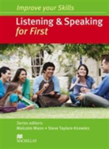 Improve Your Skills Listening Speaking for First (No key) - cover