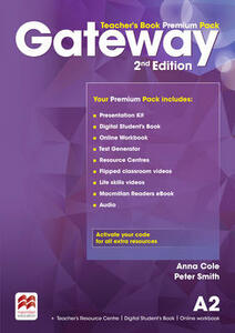 Gateway 2nd Edition A2 TB Premium Pack - Anna Cole,Peter Smith - cover