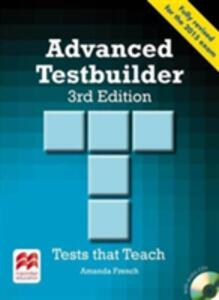 Advanced Testbuilder 3rd edition Student's Book without key Pack - Amanda French - cover