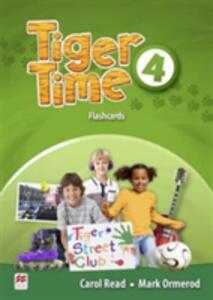 Tiger Time Level 4 Flashcards - Carol Read,Mark Ormerod - cover