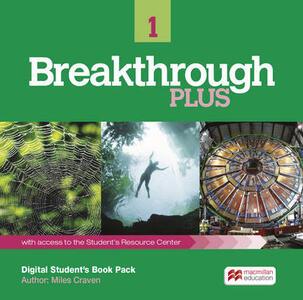 Breakthrough Plus 1 Digital Student's Book Pack (Internet Ac - Miles Craven - cover