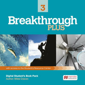 Breakthrough Plus 3 Digital Student's Book Pack (Internet Ac - Miles Craven - cover