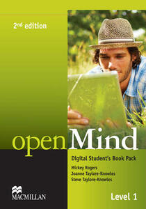 openMind 2nd Edition AE Level 1 Digital Student's Book Pack - Mickey Rogers,Steve Taylore-Knowles,Joanne Taylore-Knowles - cover