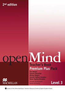 openMind 2nd Edition AE Level 3 Teacher's Book Premium Plus Pack - Joanne Taylore-Knowles,Steve Taylore-Knowles,Mickey Rogers - cover