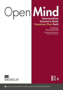 Open Mind British edition Intermediate Level Teacher's Book Premium Plus Pack - Joanne Taylore-Knowles,Steve Taylore-Knowles,Mickey Rogers - cover