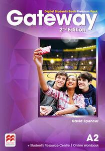 Gateway A2 Digital Student's Book Premium Pack - David Spencer - cover