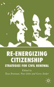 Re-energizing Citizenship: Strategies for Civil Renewal - cover