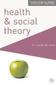 Health and Social Theory - Fernando De Maio - cover