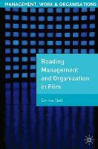 Reading Management and Organization in Film - Emma Bell - cover
