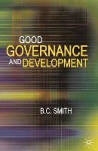 Good Governance and Development - Brian Smith - cover