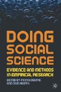 Doing Social Science: Evidence and Methods in Empirical Research - cover