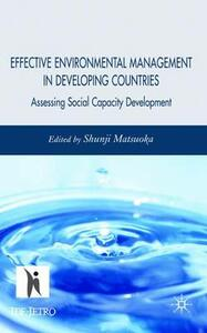 Effective Environmental Management in Developing Countries: Assessing Social Capacity Development - cover