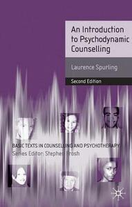 An Introduction to Psychodynamic Counselling - Laurence Spurling - cover