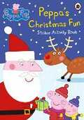 Libro in inglese Peppa Pig: Peppa's Christmas Fun Sticker Activity Book