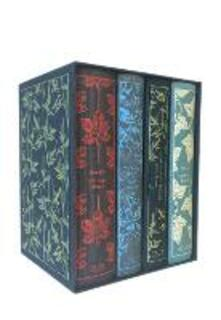 The Bronte Sisters (Boxed Set): Jane Eyre, Wuthering Heights, The Tenant of Wildfell Hall, Villette - Charlotte Bronte,Emily Bronte,Anne Bronte - cover