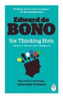 Six Thinking Hats - Edward de Bono - cover