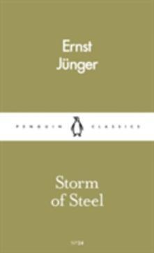 Storm of Steel - Ernst Junger - cover