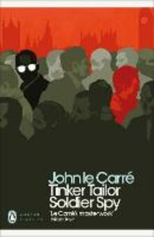 Tinker Tailor Soldier Spy - John le Carre - cover
