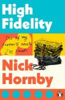 High Fidelity - Nick Hornby - cover