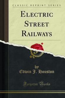 Electric Street Railways