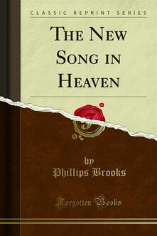 The New Song in Heaven