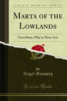 Marta of the Lowlands