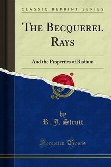 The Becquerel Rays