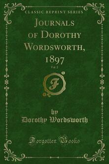 Journals of Dorothy Wordsworth, 1897