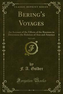 Bering's Voyages