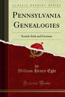 Pennsylvania Genealogies