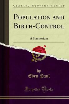 Population and Birth-Control