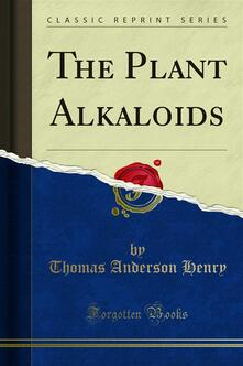 The Plant Alkaloids