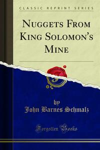 Nuggets From King Solomon's Mine