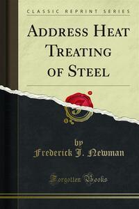 Address Heat Treating of Steel