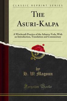 The A?suri?-Kalpa