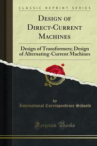 Design of Direct-Current Machines
