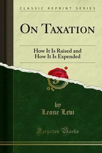 On Taxation