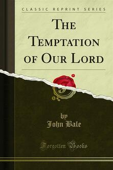 The Temptation of Our Lord