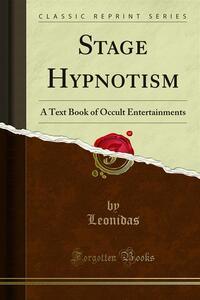 Stage Hypnotism