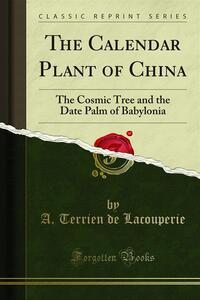 The Calendar Plant of China