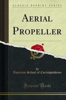Aerial Propeller